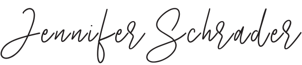 jennifer schrader signature
