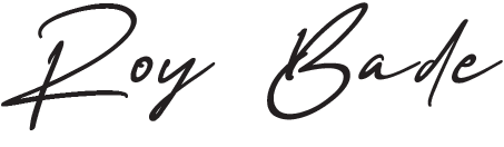 roy bade signature