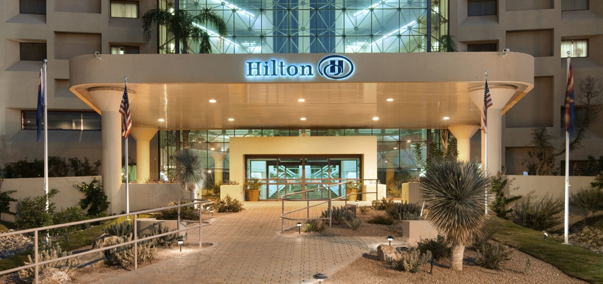 Tucson Hilton Garden Inn Entrance