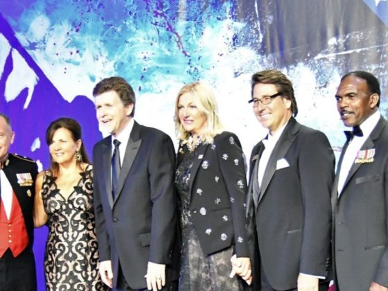 Attendees at the USO San Diego's recent 76th Annual Stars and Stripes Gala