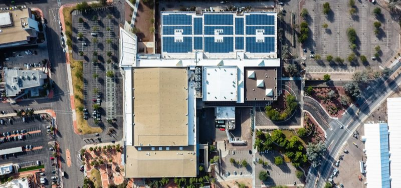 Tucson Convention Center aerial shot