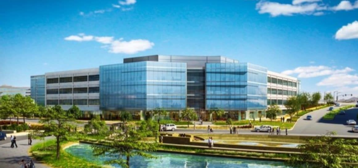 Located on 60-acres north of the Red Mountain 202 Freeway in Tempe, The Grand at Papago Park Center will total approximately 3.2 million square feet of mixed-use office, retail and hotel uses, as well as multiple above-ground parking garages at full build out.