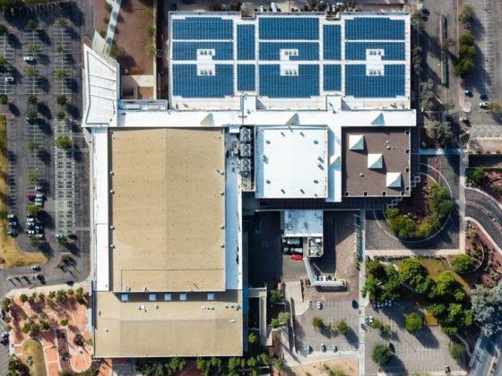 Tucson Convention Center aerial shot