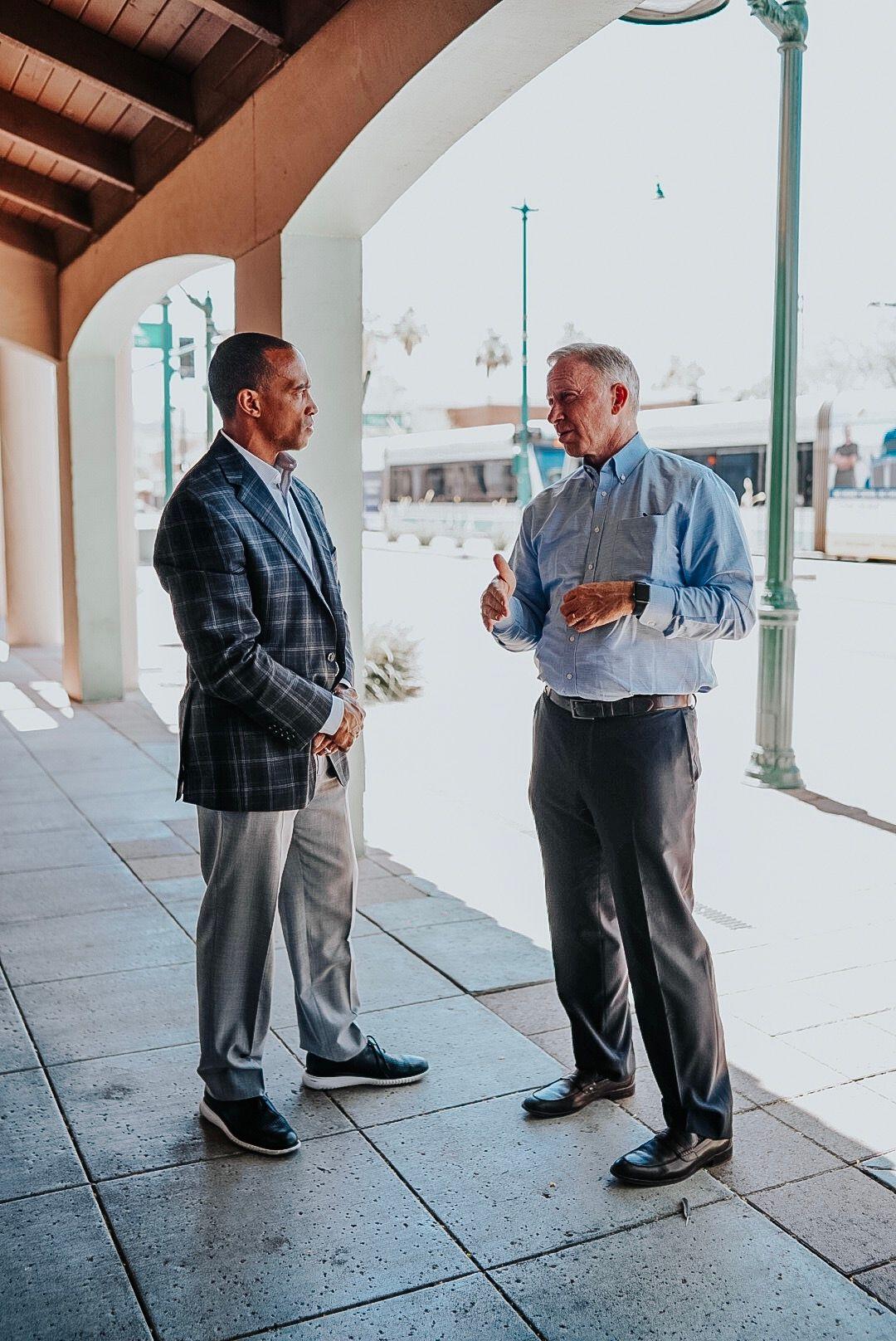 Scott Turner visits Phoenix opportunity zones