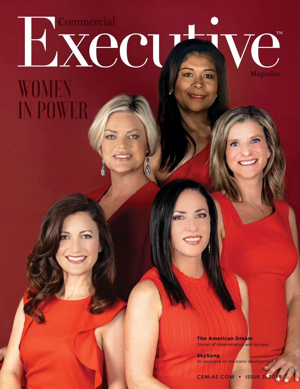 Executive Magazine's 2019 Women in Power cover featuring Caliber cofounder Jennifer Schrader