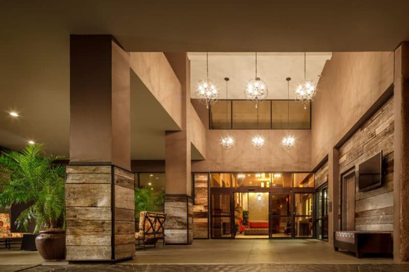 Crowne Plaza Entrance