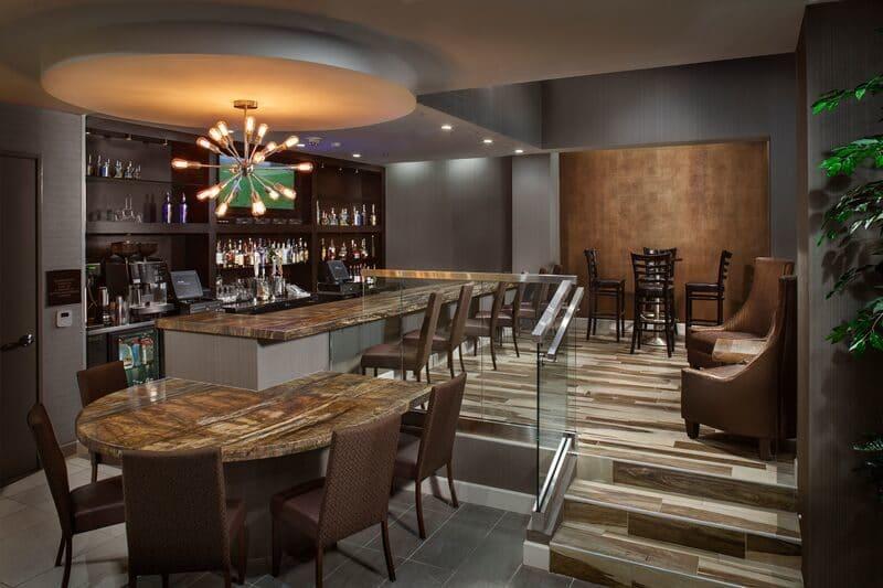 Crowne Plaza bar