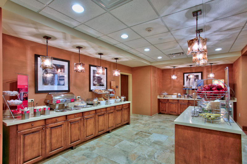 Hampton Inn & Suites Breakfast Area