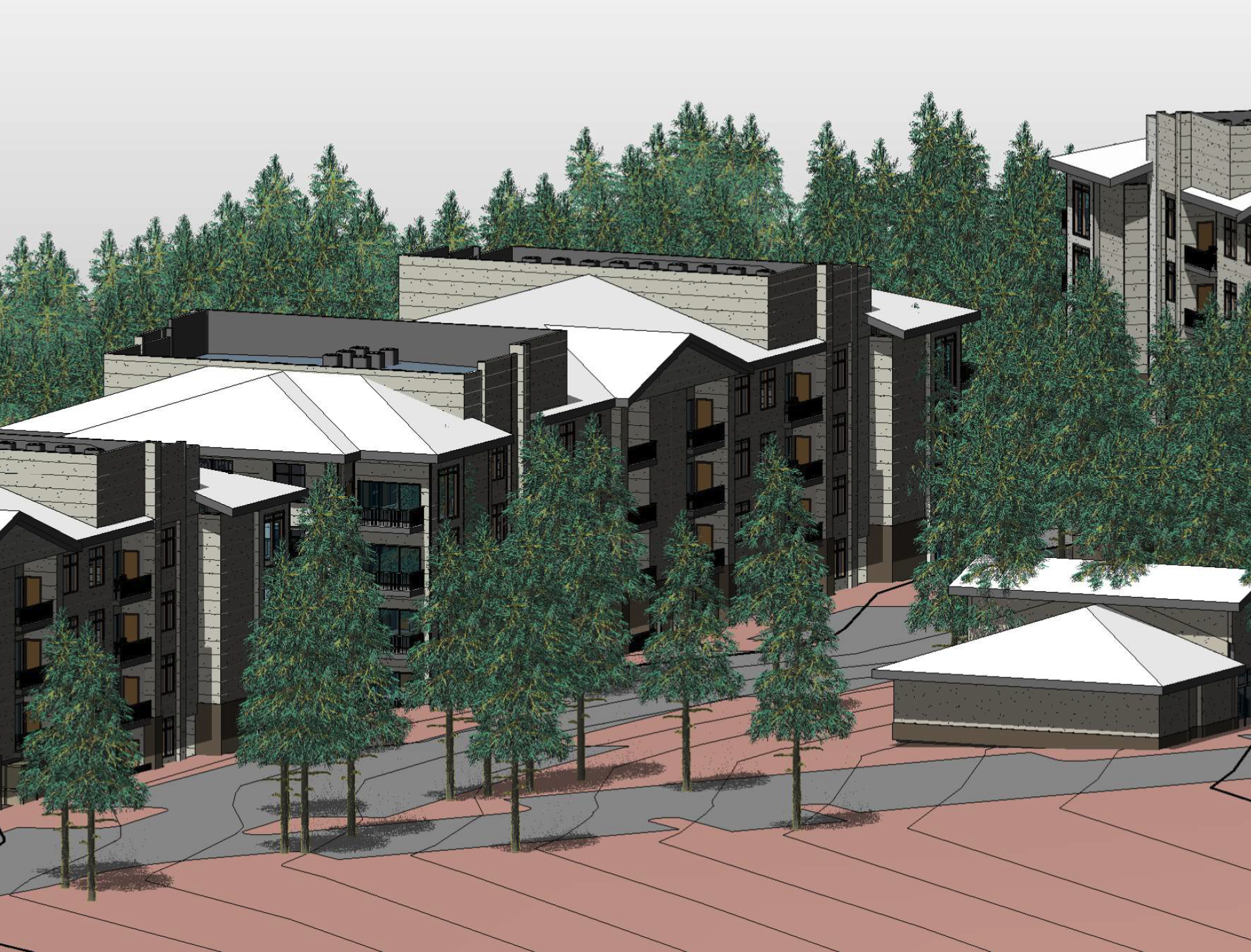 The Elkwood Apartments Rendering
