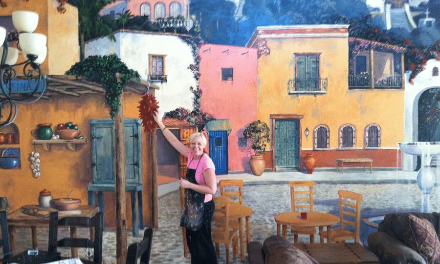 Artist Gina Ribaudo