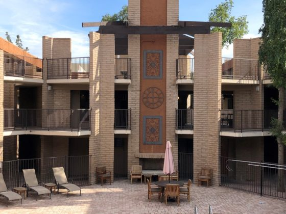 The Palms apartment complex
