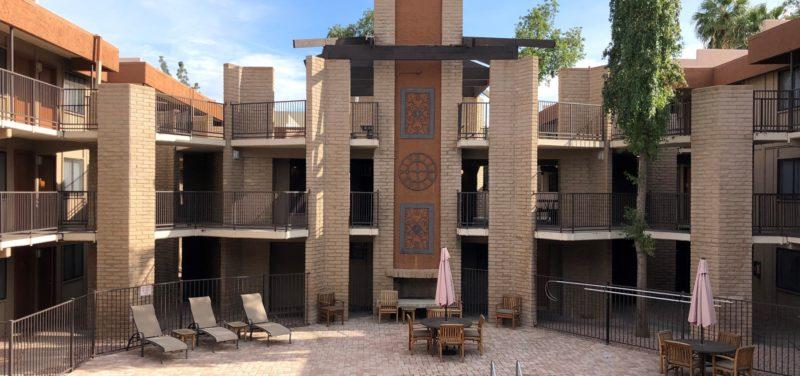 The Palms apartment complex