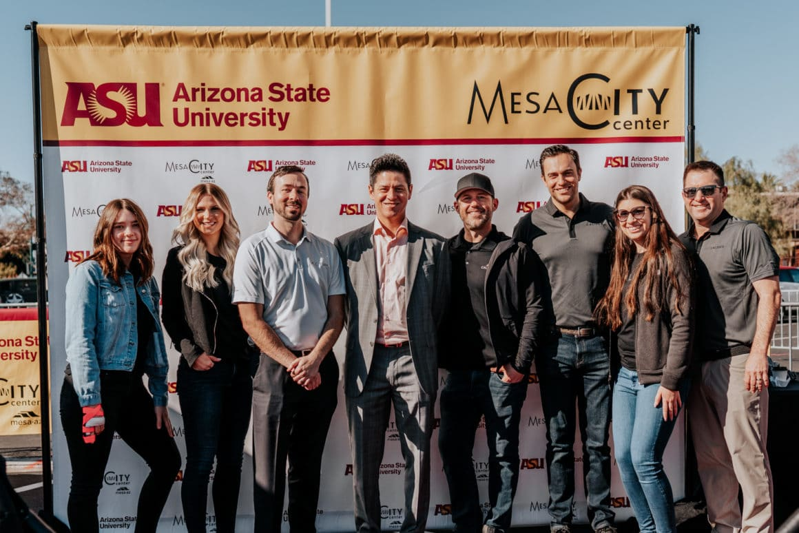 Mesa Arizona ASU Groundbreaking