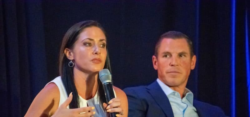 Caliber co-founder Jennifer Schrader speaks at Caliber's the AZRE Forum