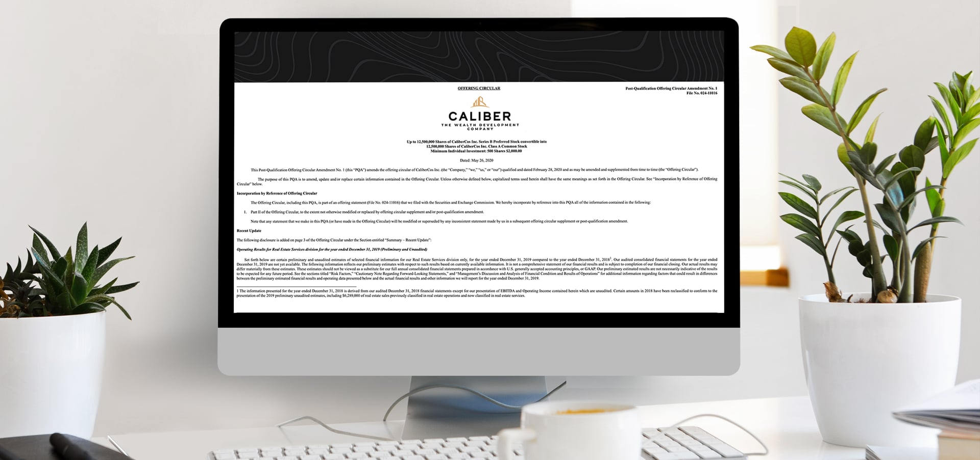 Caliber 2019 Annual Report