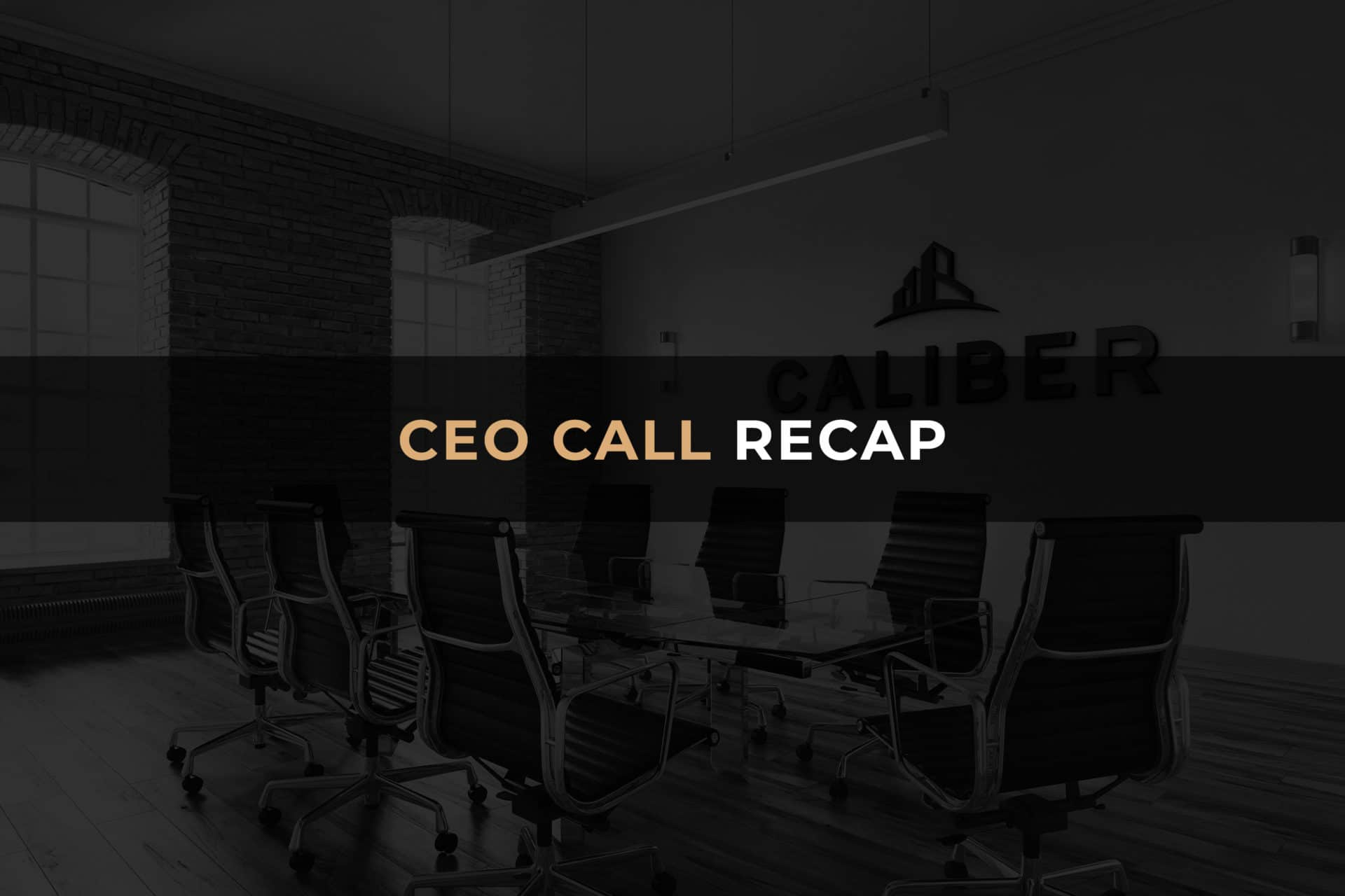 CEO Call Recap Header Decorative