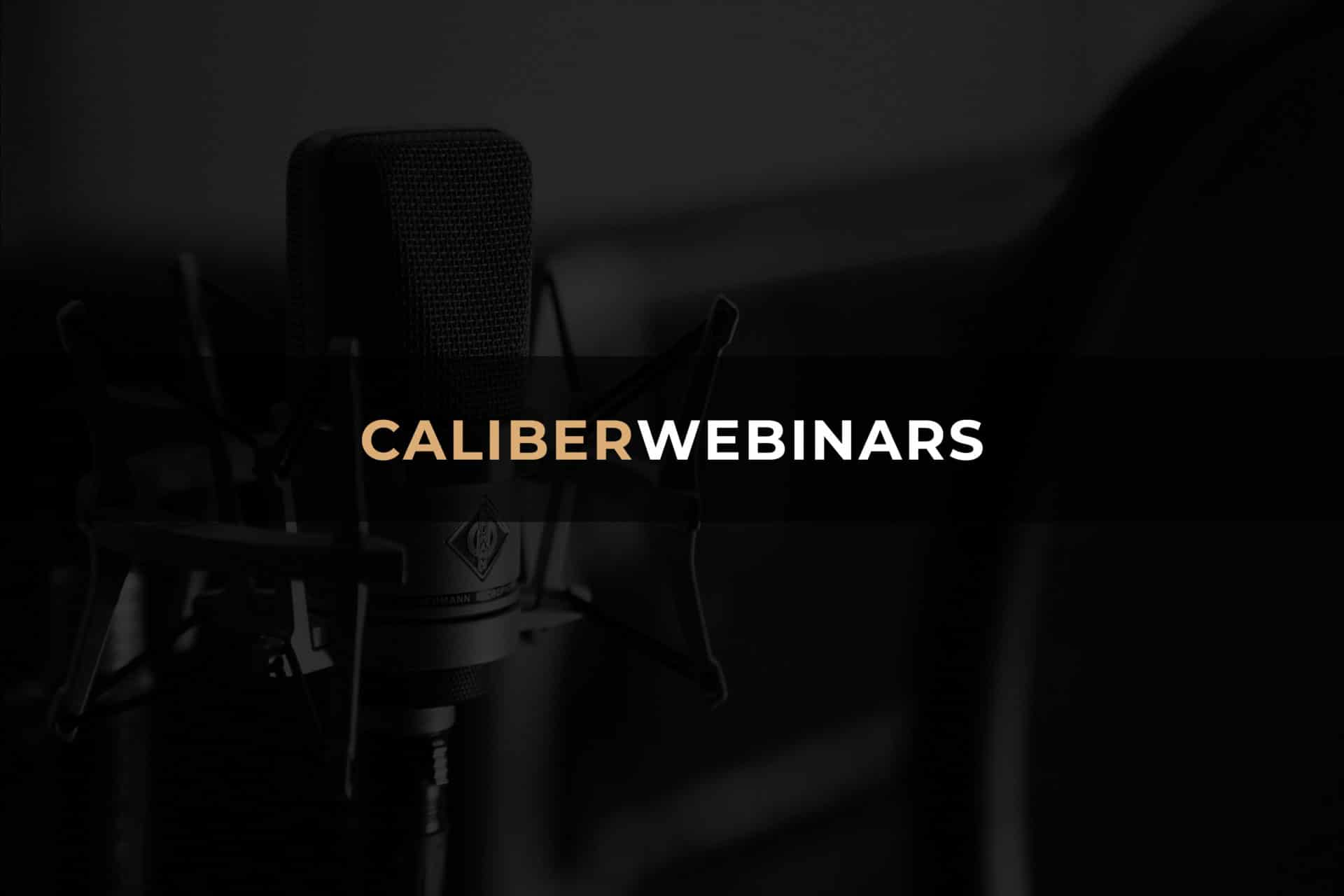 Caliber Webinars Header Decorative