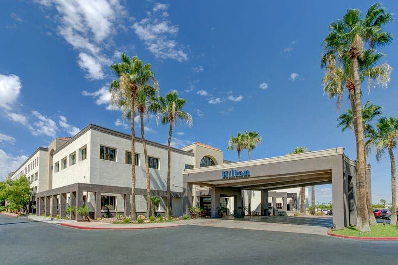 HILTON PHOENIX AIRPORT IS ONE OF CALIBER'S 11 HOTEL PROPERTIES THAT INVESTORS HAVE THE OPTION TO INVEST MONEY INTO