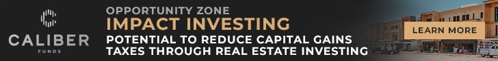 Caliber Funds, Opportunity Zone, Impact Investing, Potential to reduce capital gains taxes through real estate investing, click to learn more