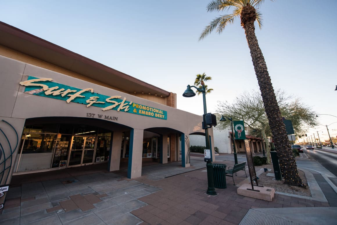 Caliber real estate investment in downtown mesa