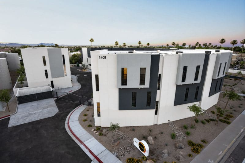 Multifamily Property in Scottsdale Arizona - The Eclipse Townhomes - visit https://www.caliberco.com/eclipse-townhomes/ to learn more about this development by Caliber