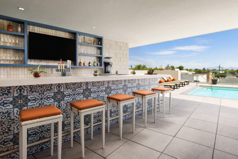 The DoubleTree by Hilton Tucson Pool Bar