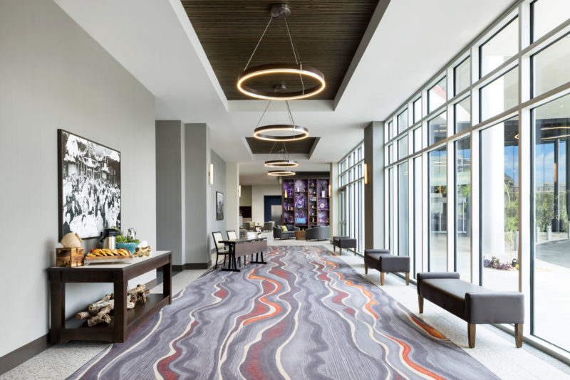 The DoubleTree by Hilton Tucson Lobby