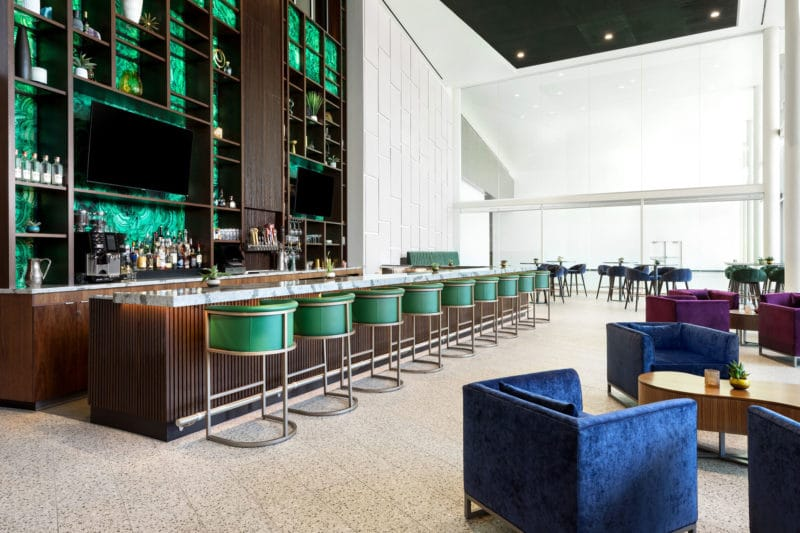 The DoubleTree by Hilton Tucson Lobby Bar