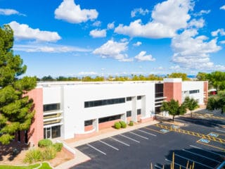 Fiesta Tech office/flex workplace developed by Caliber was just sold