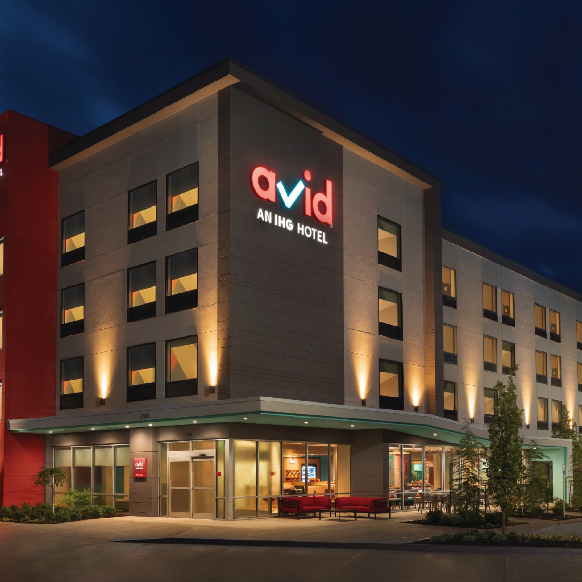 Avid Hotel Exterior Finishes Concept